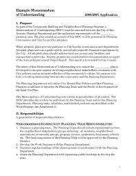 best photos of examples of memorandum of understanding sample sample memorandum of understanding agreement