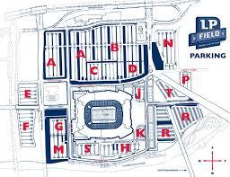 Nissan Stadium Nashville Tn Seating Chart View