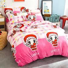 pink flannelette duvet sets pink flannelette duvet cover lovely girls fleece fabric winter duvet cover sets