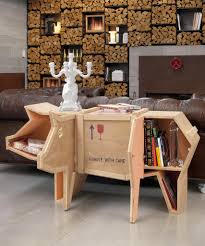 wooden crate furniture. sending pig animal wood crate furniture by seletti wooden y