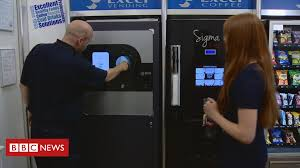 How Do Reverse Vending Machines Work Stunning Could Reverse Vending Cut Plastic Bottle Waste BBC News
