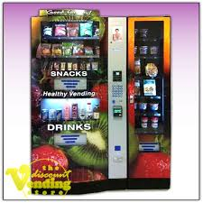 Vending Machine Charity Stickers Awesome Fortune Resources NV48 Healthy Combo Vending Machine Vending