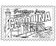 Small Picture USA Printables State of North Carolina Coloring Pages North