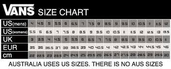Vans Old Skool Size Chart Vans Old Skool Sizing Www Irishpostoffices Org