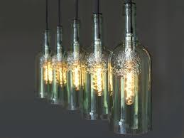 Uniikatde Lichtgestalten Flaschenlampe Hängelampe Cinco