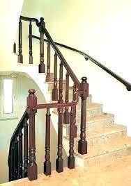 interior railing kits indoor wood ideas stair wooden barade for staircase stair railing ideas design wood