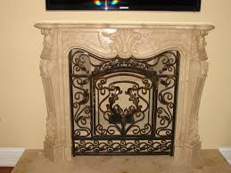 image of fireplace screens houston