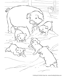 Small Picture farm animal coloring pages these free printable farm animal