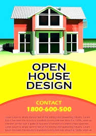 House For Rent Flyer Template Word House Brochure Template Free Flyers For Real Estate Sell