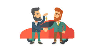 Image result for auto sales cartoon
