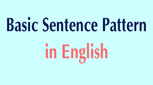 What Is Pattern Extraordinary Basic Sentence Pattern In English Basic Patterns YouTube