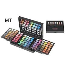 miss rose professional make up 3d high gloss 96 color eye shadow kit with mirror