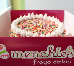 Menchies Pinole Frozen Yogurt Cake Frozen Yogurt Shop