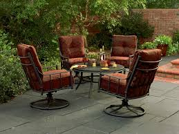 metal patio chairs lovely metal outdoor patio furniture sets home design ideas