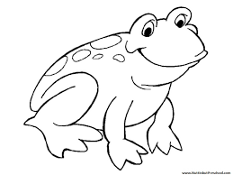 Small Picture Frog Coloring Page Or Art Pattern Nuttin But Preschool 9693