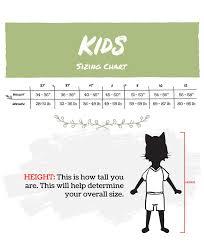 Lazy One Size Chart Size Charts Lazyone