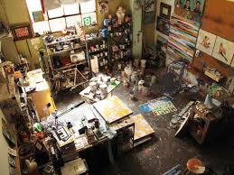 Home Art Studio Swinj Art Productions Workspace Pinterest Art Production