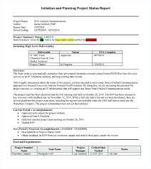 Weekly Status Report Template Excel Project Progress Report Format