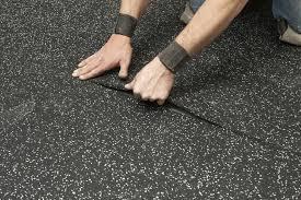 classical fleck rubber gym flooring