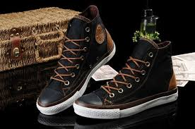 converse all star leather. converse all star high tops vampire leather black maroon trainers - outlet