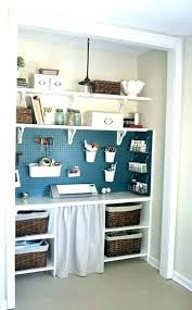 closet office ideas ikea desk nice inspiration small space closets turned home offices office supply closet organization ideas desk space small