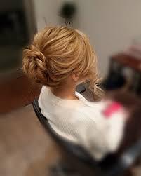 平原さんのヘアスタイル 少し高めの綺麗めアップ Tredina