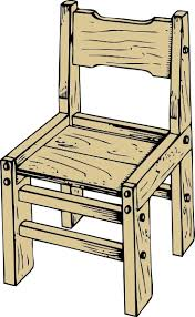 wooden chair clipart. Delighful Wooden Wooden Chair Clip Art On Clipart H