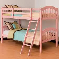 Storkcraft Long Horn Bunk Bed in Pink FREE SHIPPING $275 99