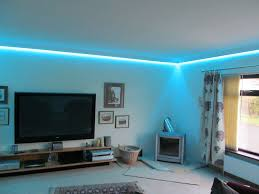 Led Lighting For Living Room Concealed Led Tape Colour Changing Coving Lighting