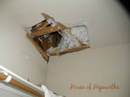 repair large sections of drywall