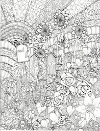 向日葵の花 お洒落な大人の塗り絵ぬりえ テンプレート 画像集
