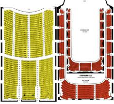Boston Symphony Hall Seating Chart Ticket Solutions