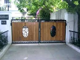 metal fence designs. Wood And Metal Fences Wrought Iron Fence Designs Modern Frame With Slats  Design Free Software