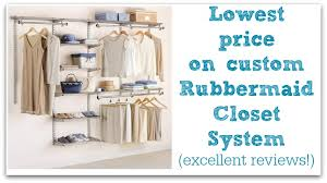 amazon steal rubbermaid custom closet