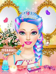 magic princess makeup makeover and dress up games for s screenshot 8