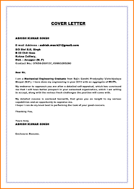Resume Letter Fresh Graduate Application For Employment For A