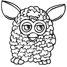 Furby 3 Coloring Page Auto Electrical Wiring Diagram