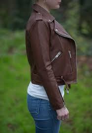 allsaints balfern leather biker jacket review