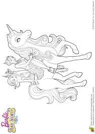 Coloriage Licorne Barbie L L Duilawyerlosangeles