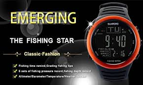 Amazon Com Sunroad Fishing Digital Barometer Watch 5atm