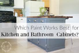 Kitchen Cabinets Brand Names Which Is It Best Paint Use Kitchen Bath Cabinets