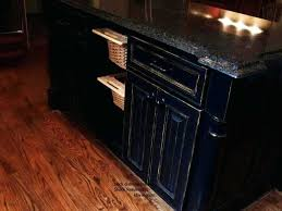 Antique Black Kitchen Cabinets Custom Decoration
