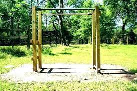 outdoor backyard pull up bar for monkey bars original play equipment kit