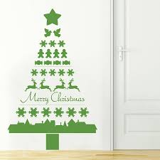 Christmas Wall Art Nordic Wooden Christmas Tree Decoration