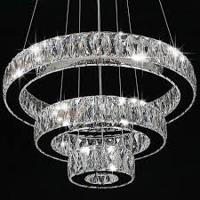 ceiling lights chandeliers modern modern crystal round ring led pendant lamp ceiling lights