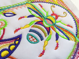 Sweet Pea Embroidery Designs Sweet Pea Machine Embroidery Designs Block 4 Of The Crewel