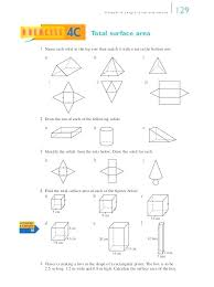 Free Surface Area Worksheets Surface Area Of Prisms And Cylinders ...