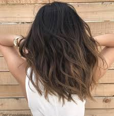 Light Brown Ombre Short Hair I Love How The Color Transitions Down The Hair Brown Hair