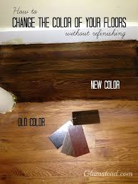 wood floor refinishing without sanding. Refinishing Hardwood Floors Without Sanding Diy Changing Wood Floor Colors A .