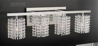 Classy Crystal Bathroom Vanity Lights Exquisite Decoration PLC Lighting 72196 Rigga Modern Contemporary For